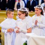 Pierwsza Komunia Św. w Sicinach